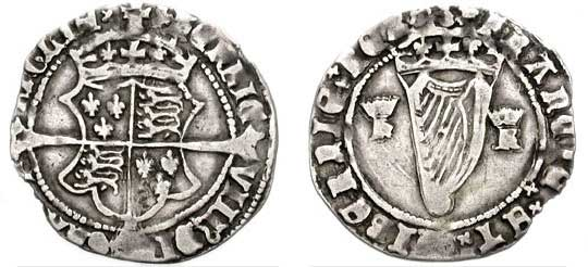 Henry The eight groat (coin)