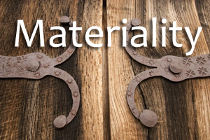 Materiality page