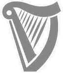 Current look of the Guinness harp