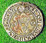 Elizabethan coin issued 1561