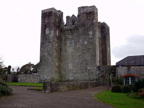Photograph of Barryscourt Castle.