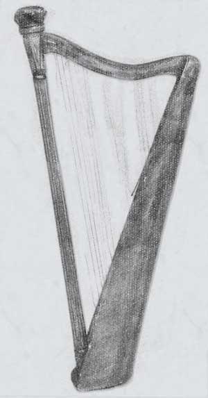 The Charlemont Harp