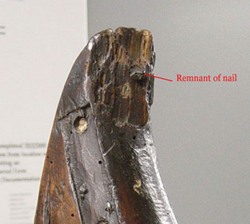 photo of head of the Mulagh harp