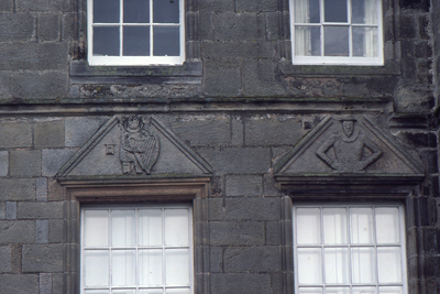 photo showing side-by-side windows on Hill House