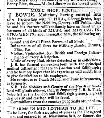 Edinburgh Courant 25 July, 1803