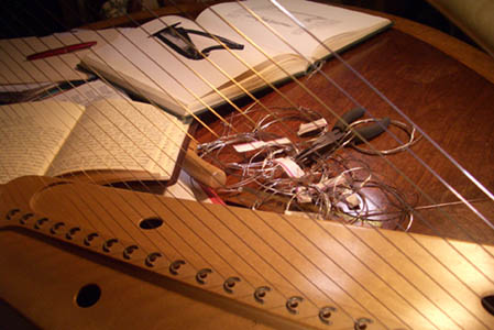 Silver Strings on a Harp